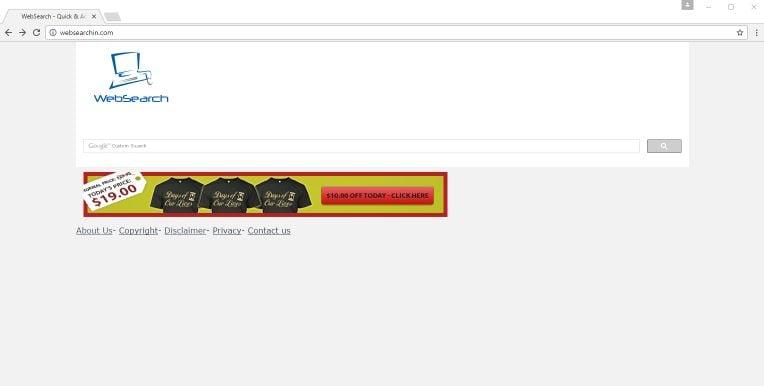 Websearchin.com Virus