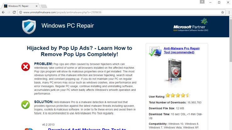 Remove Uninstallmalware com pop-up ads (Removal Guide)