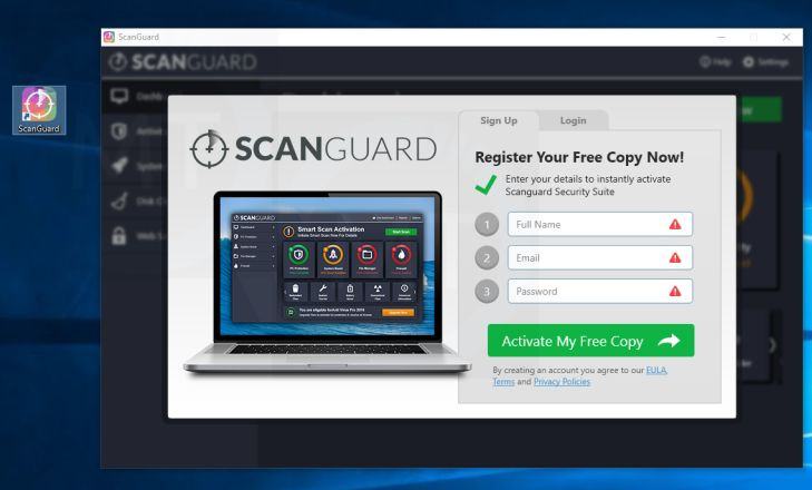 scanguard software