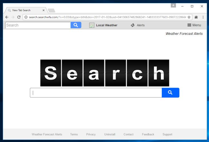 Search.searchwfa.com virus