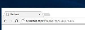 How to remove Aclickads.com redirect (Virus Removal Guide)