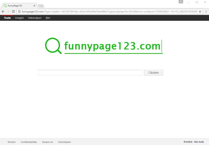funnypage123.com virus