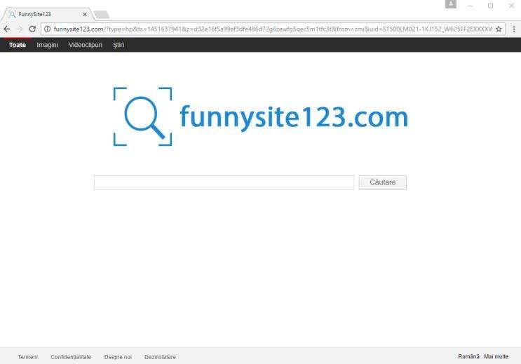 funnysite123.com virus