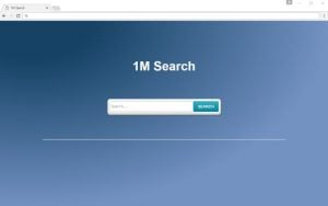 "How to remove ""1M Search"" redirect (Chrome, Firefox, IE and Edge)"