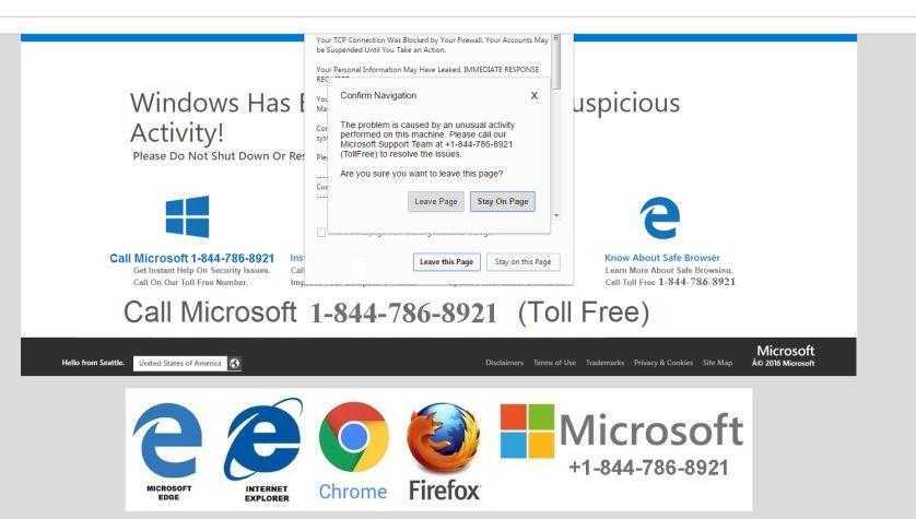 Internet warning microsoft Security Certificate
