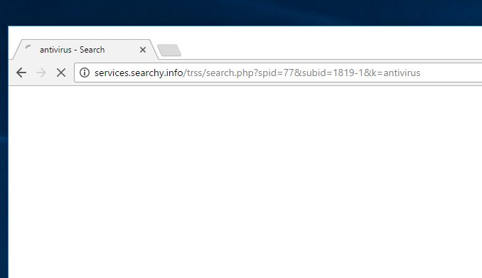 Services.searchy.info virus