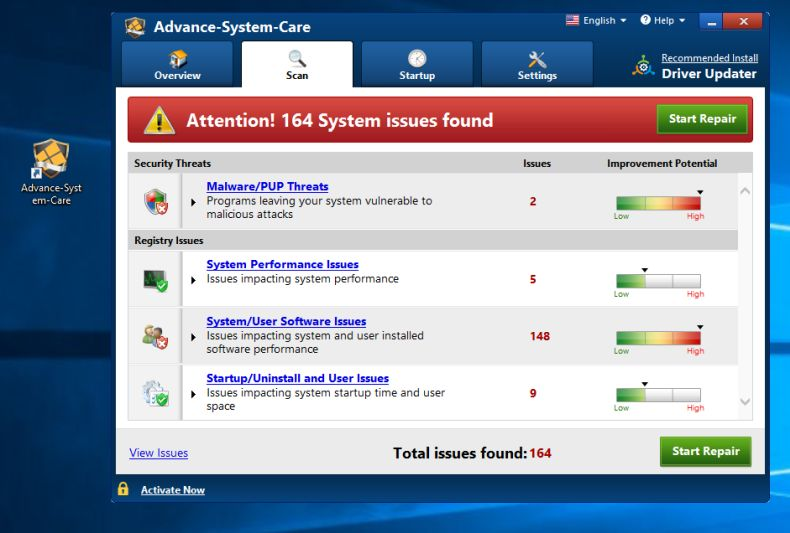total system care windows xp