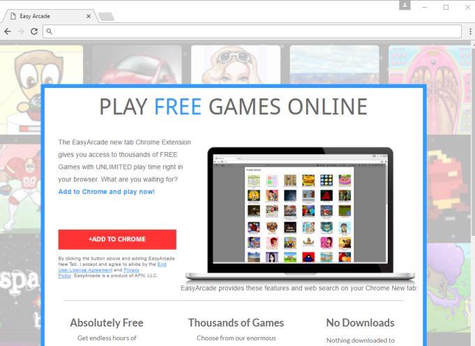 Remove Geteasyarcade com pop-up ads (Chrome, Firefox, IE and