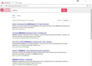 Remove Super-search.org redirect (Virus Removal Guide)