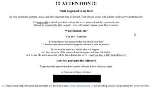 Remove Cradle Ransomware (_HOW_TO_UNLOCK_FILES_.html Files Encrypted)