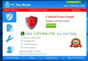 How to remove PC Reg Boost from Windows (Uninstall Guide)
