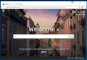 """How to remove """"Better Tab"""" homepage (Removal Guide)"""