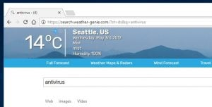 Remove Search.weather-genie.com redirect (Virus Removal Guide)