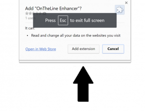 """Remove """"OnTheLine Enhancer"""" Chrome extension (Virus Removal Guide)"""