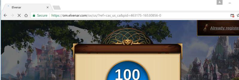 om.elvenar.com adware