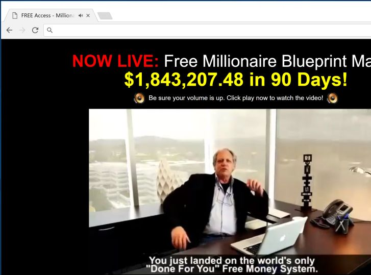 Remove millionaire blueprint pop up ads virus removal guide millionaire blueprint redirect virus malvernweather Choice Image