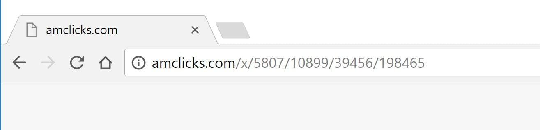 Amclicks.com redirect virus