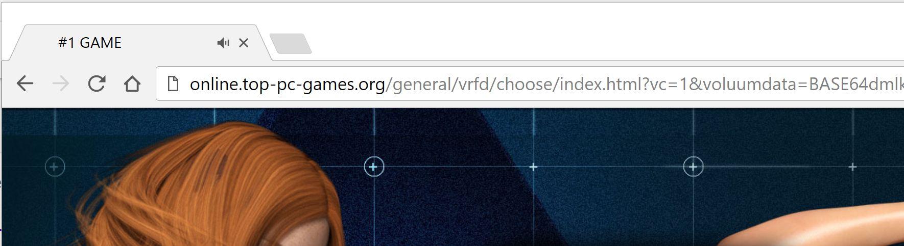 Online.top-pc-games.org redirect virus