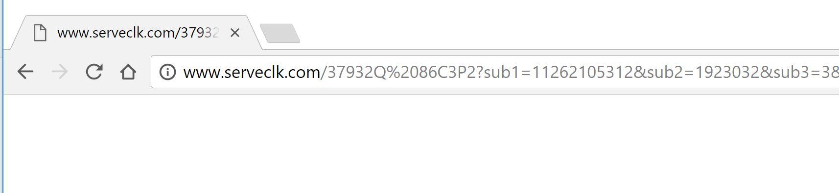 www.serveclk.com Virus