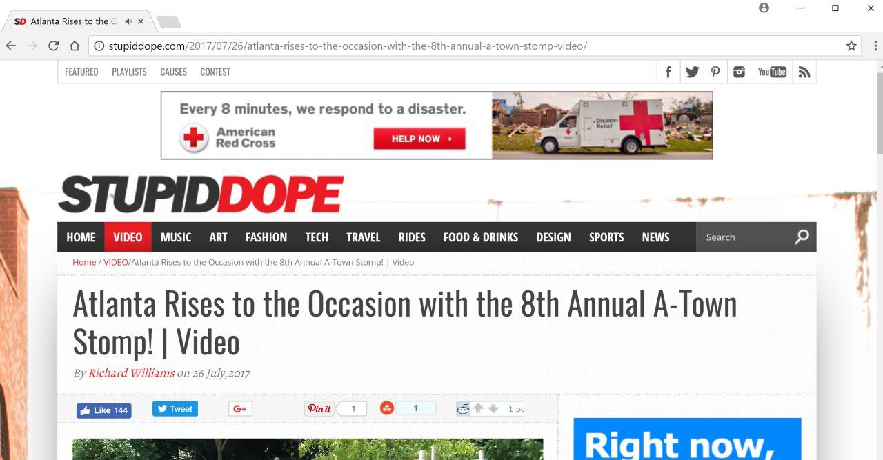 stupiddope.com pop-up ads virus