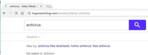 How to remove Togosearching.com redirect (Virus Removal Guide)