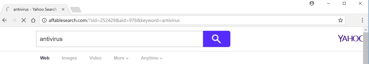 Affablesearch.com Search Redirect virus