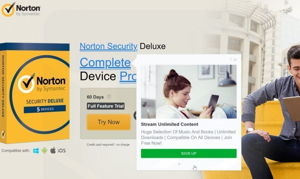 Browser-Security Ads