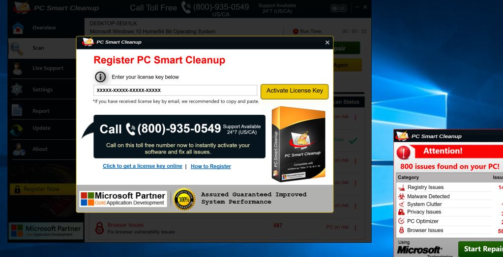 PC Smart Cleanup Virus