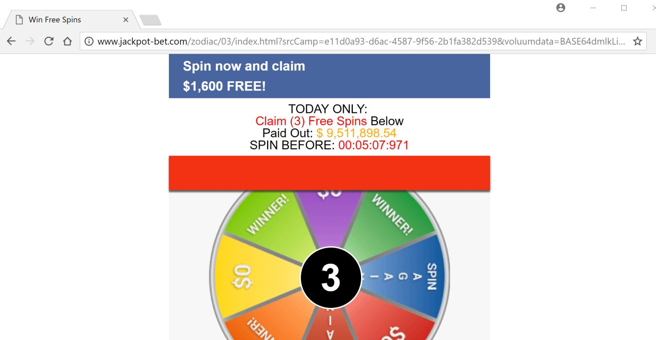 Win Free Spins Scam