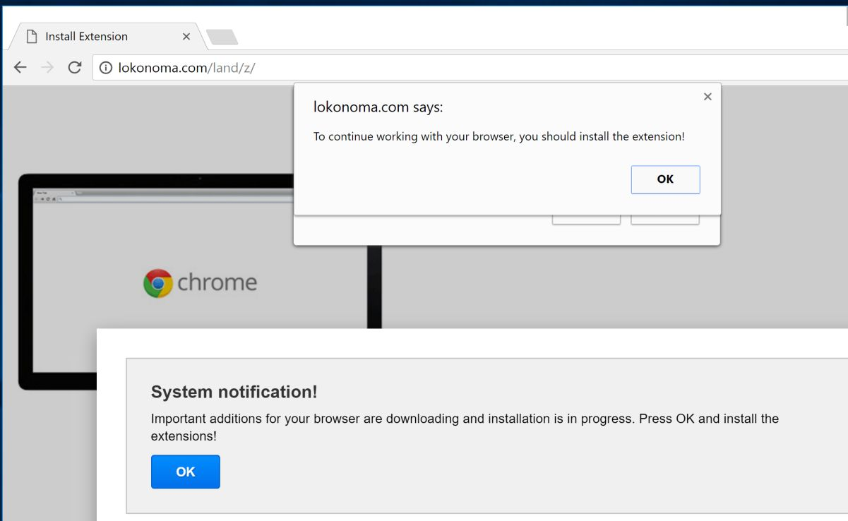 How to install or remove browser extensions