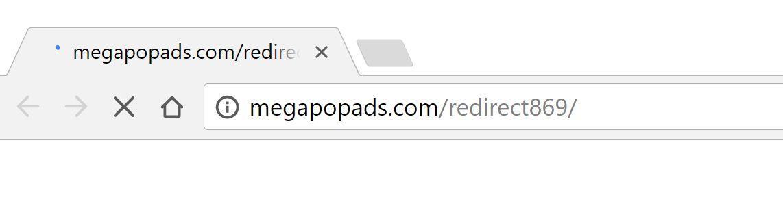 megapopads.com redirect virus