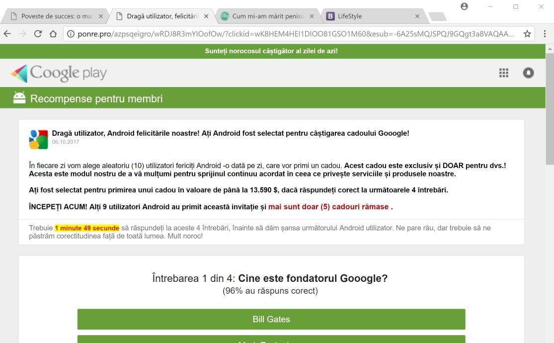 FastDataX Adware Virus