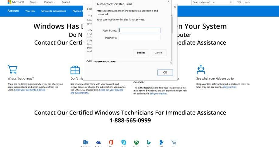 IHR COMPUTER WURDE GESPERRT Scam Virus