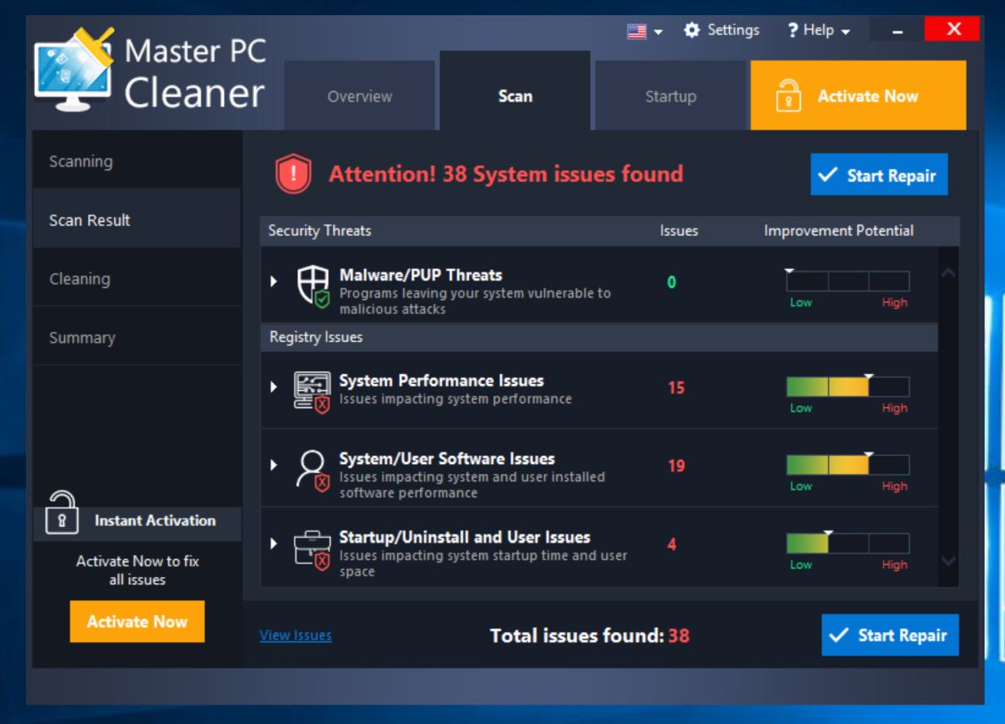 pc cleaner software free download full version