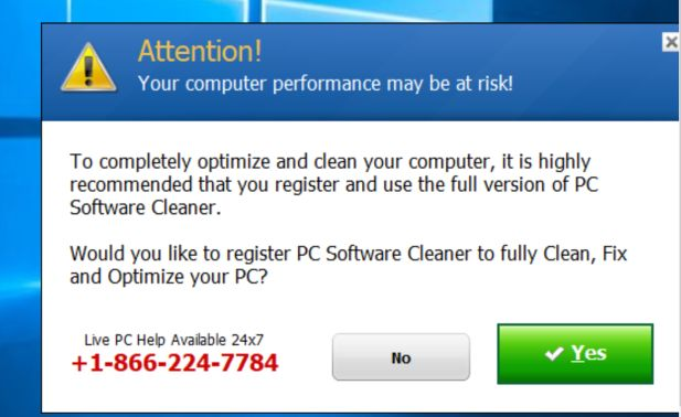 PC Software Cleaner 7 Virus