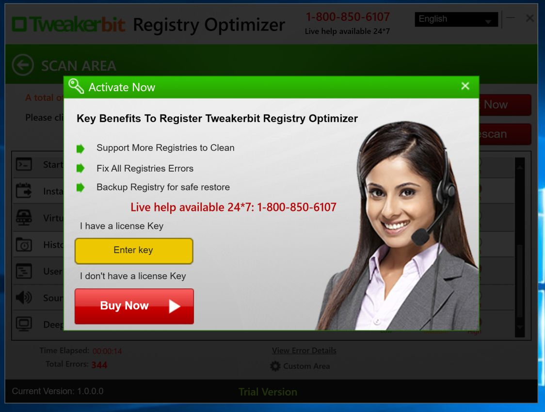 Tweakerbit Registry Optimizer Virus