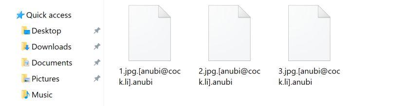 anubi ransomware virus