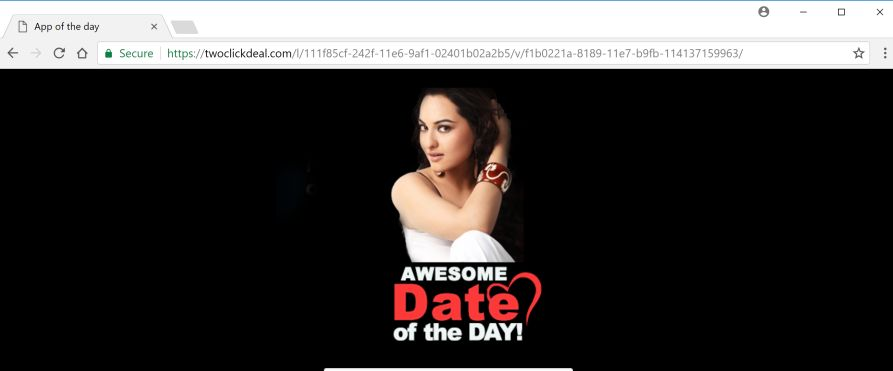 Dating site pop up ads