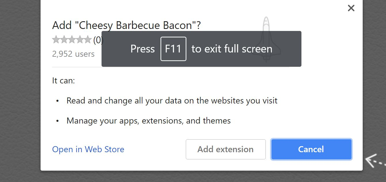Cheesy Barbecue Bacon by Avdp.me adware