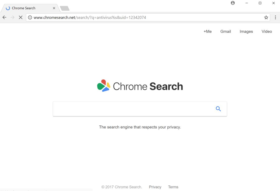 Chrome Search Net search redirect virus