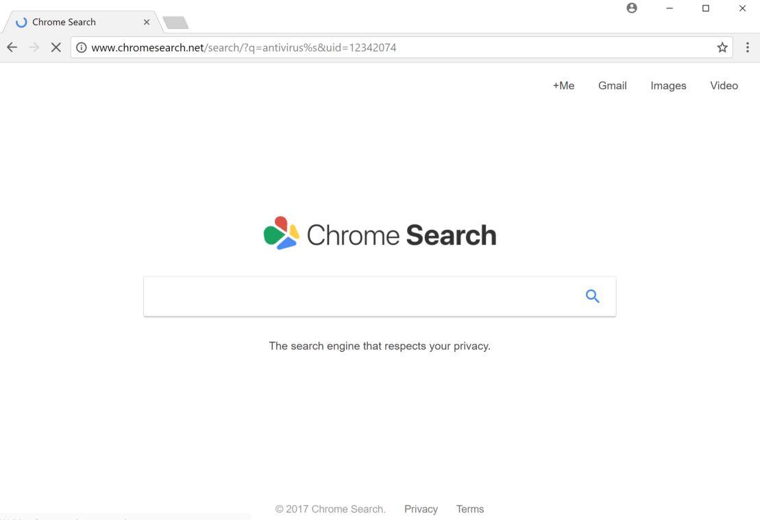 Chromesearch.net redirect virus