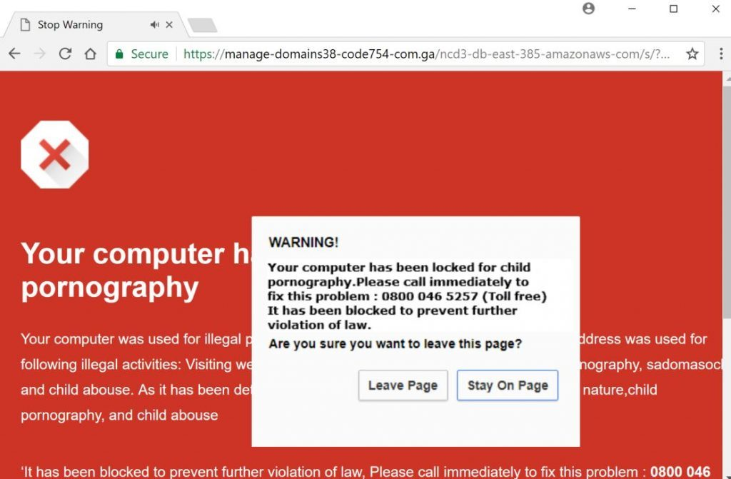 Error code 022-023-251 Fake Alerts Scam