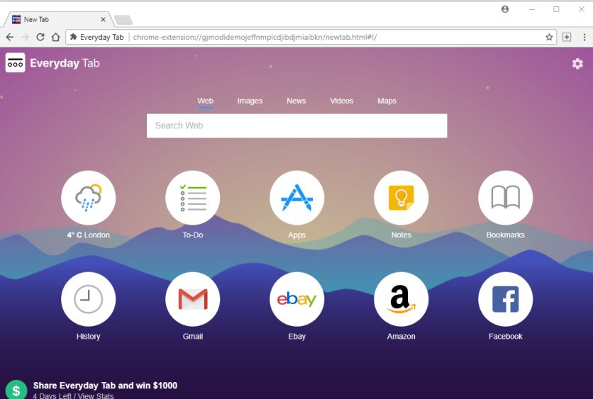 amazon giveaway chrome extension