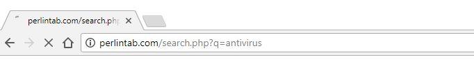 Perlintab.com redirect virus