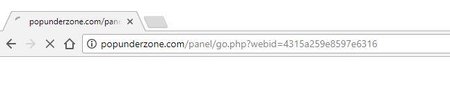 Popunderzone.com Redirect Virus