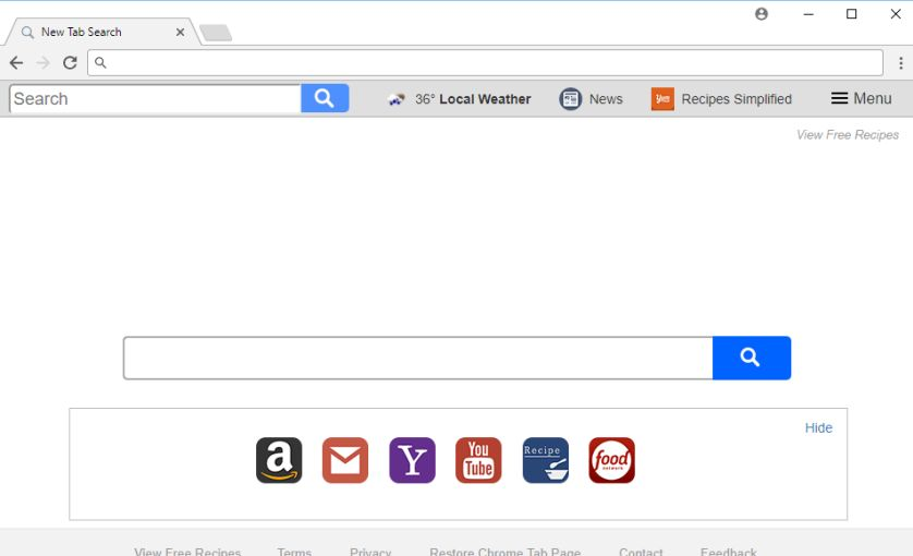 how to delete yahoo search engine from chrome