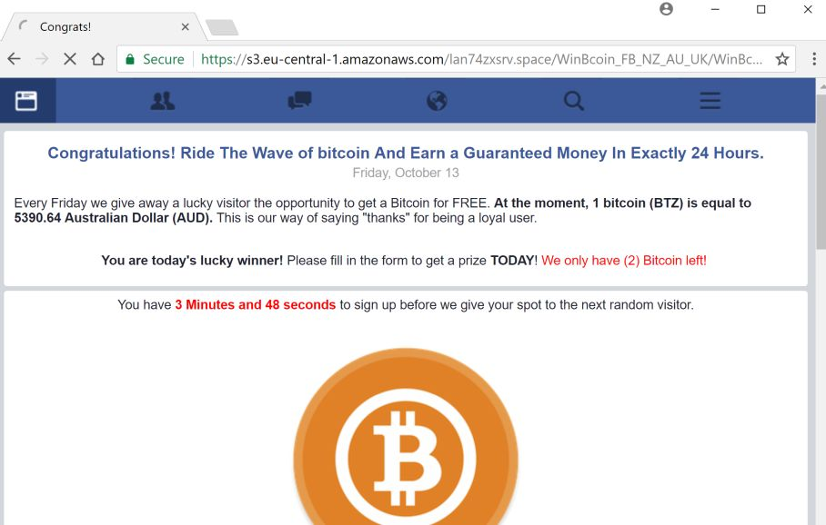 "How to remove ""Win a prize from Bitcoin"" pop-up ads (Survey Scam)"