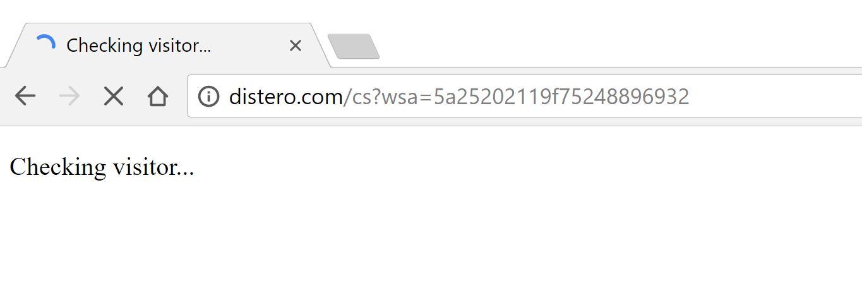 distero.com redirect virus