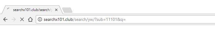 searchx101.club redirect virus