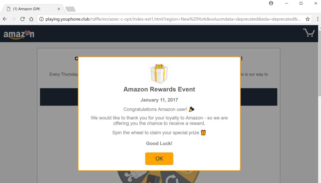 """Mac Virus Removal >> How to remove """"(1) Amazon Gift"""" pop-up ads (Survey Scam)"""